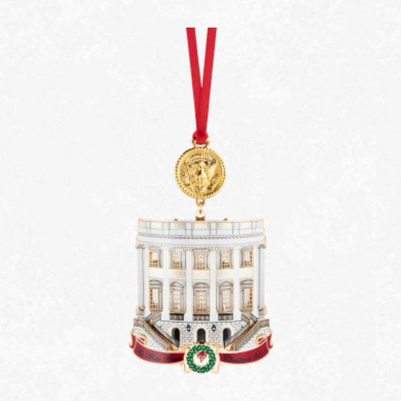 White House Christmas Ornament 2019.Official 2018 White House Christmas Ornament